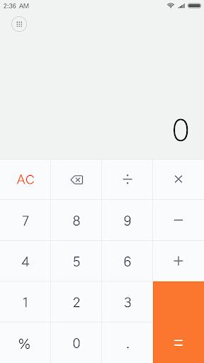 Mi Calculator 10.1.1 screenshots 1