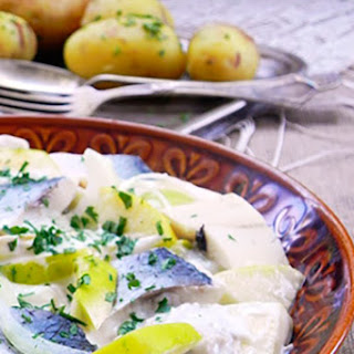 Herring In Sour Cream Marinade