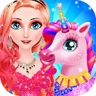 Princess Unicorn Care Salon icon