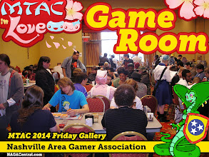 Photo: By Friday, and throughout the convention, the Analog Game Room was a roaring success.  Thanks to all who volunteered and attended: tell us your stories!