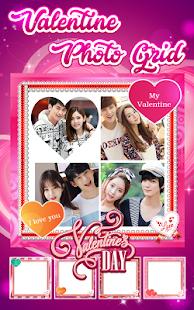 Valentine Photo Grid - náhled
