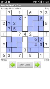 Super Sudoku Pro Free- screenshot thumbnail