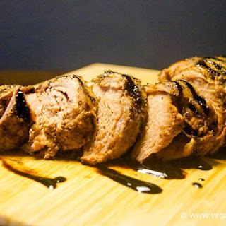 Sunday Slow Cooker: Balsamic Brown Sugar Pork Tenderloin.