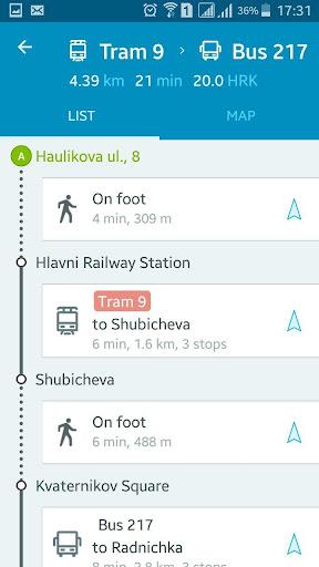 EasyWay public transport  screenshots 4
