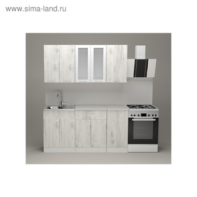 Кухонный гарнитур Алина стандарт, 1600 мм