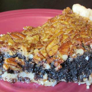 Brownie Lover's Pecan Pie