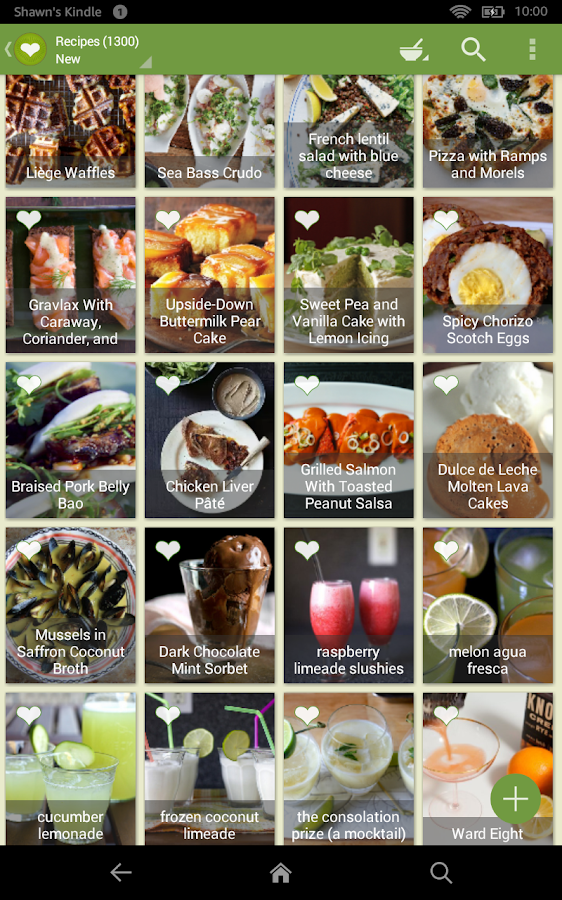 ChefTap Recipes & Grocery List- screenshot