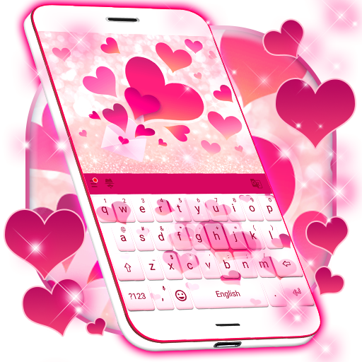Pink Love Keyboard Apps On Google Play