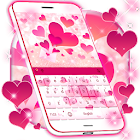 Pink Love Keyboard icon