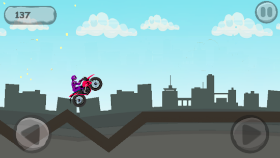 Motor Bike Ride Game - náhled