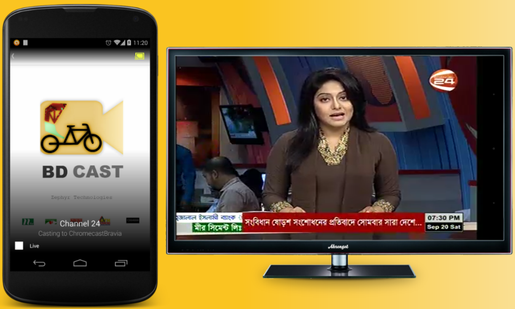 BDCast - Bangla Live TV,Radio- screenshot