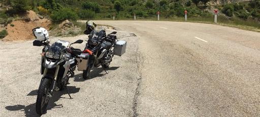 La corse à moto