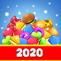 Sweet Candy Party : Free Match-3 Game icon