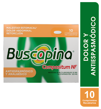 BUSCAPINA COMPOSITUM NF   CAJA X10 COMP
