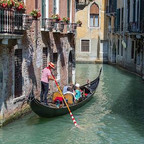 A Romantic Tour by Pascal Bénard - City,  Street & Park  Street Scenes ( venezia, italie, venise, city )