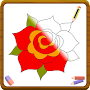 How to draw A Rose And Flowers Easy Step by Step APK icon
