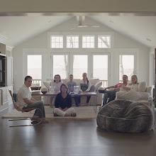 Photo: title: Tara Ellef + Chuck Cardillo, Christine +Jack Kurtz, Bubba, Taylor + Tre Ellef, Southington, Connecticut date: 2016 relationship: family, friends, cousins, met through Lucky Hollander years known: 40-45