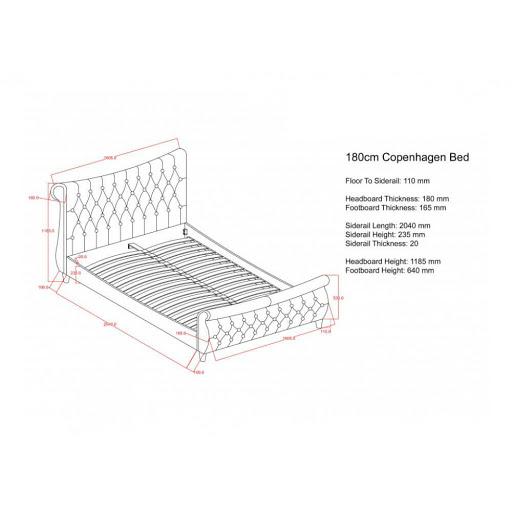 Birlea Copenhagen Bed Frame
