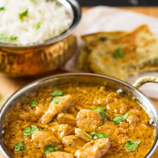 Easy Chicken Korma Curry.