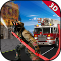 Firefighter Truck Simulation icon