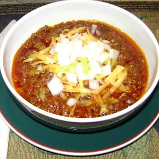 Texas Chili With Bacon Recipes