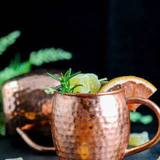 Rosemary Grapefruit Moscow Mule.