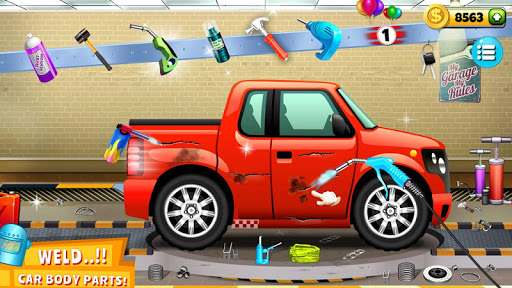 Modern Car Mechanic Offline Games 2019: Car Games apkpoly screenshots 12