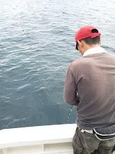 Photo: ん?ジグが沈まん。