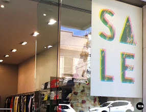Photo: FIG Boutique, 143 Toorak Road South Yarra Updated 29 minutes ago Fig Boutique Shop Signage #SALEdecals #retailsignage #SALE #FigBoutique #removabledecal #reusuabledecal taylormadesigns by Decently Exposed.