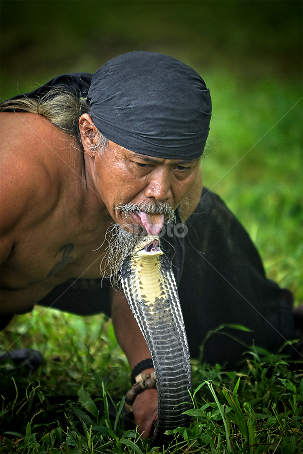 Dangerous attraction by Iwan  Kristiana - People Portraits of Men