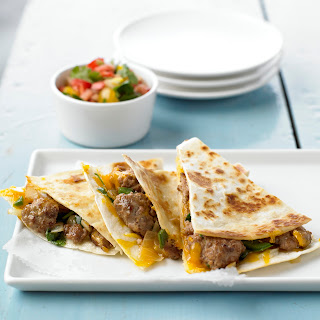 Spicy Pork Quesadillas Recipe