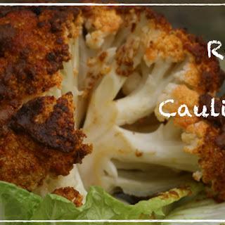 Whole Roasted Spiced Cauliflower