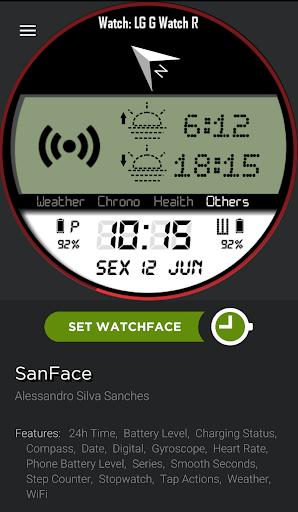 SanFace Skin for WatchMaker