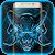 Horror Evil Blue Skull file APK Free for PC, smart TV Download
