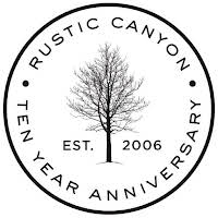 Rustic Canyon's 10th Anniversary Dinners logo