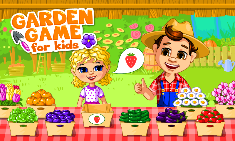 Garden Game for Kids- screenshot