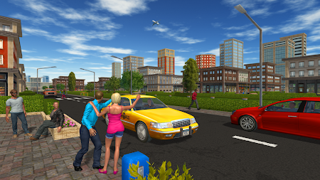 Taxi Game APK screenshot thumbnail 6
