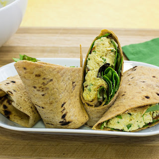 Curry Chicken Salad Wrap.