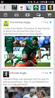 Screenshot of Ultimate Rugby