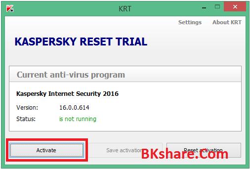 Download Kis 2016 bản quyền đến 2017