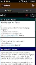 ColorDict Dictionary Screenshot 2