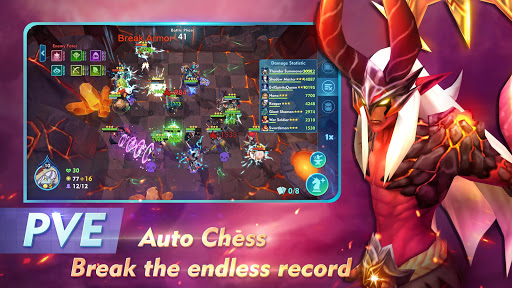 Code Triche Auto Chess War APK MOD (Astuce) screenshots 5