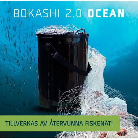 ETC Bokashi 2.0 Ocean SVART med ETCs egna Bokashi (spray) och flaska