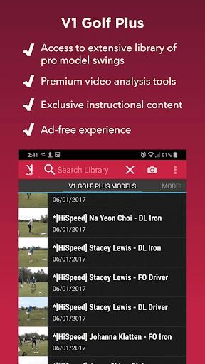 V1 Golf for Android  screenshot 4