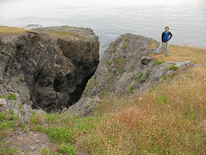 Photo: Day 2: Cool rock formation at Iceburg Point.