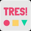 Tres - Brain Game icon