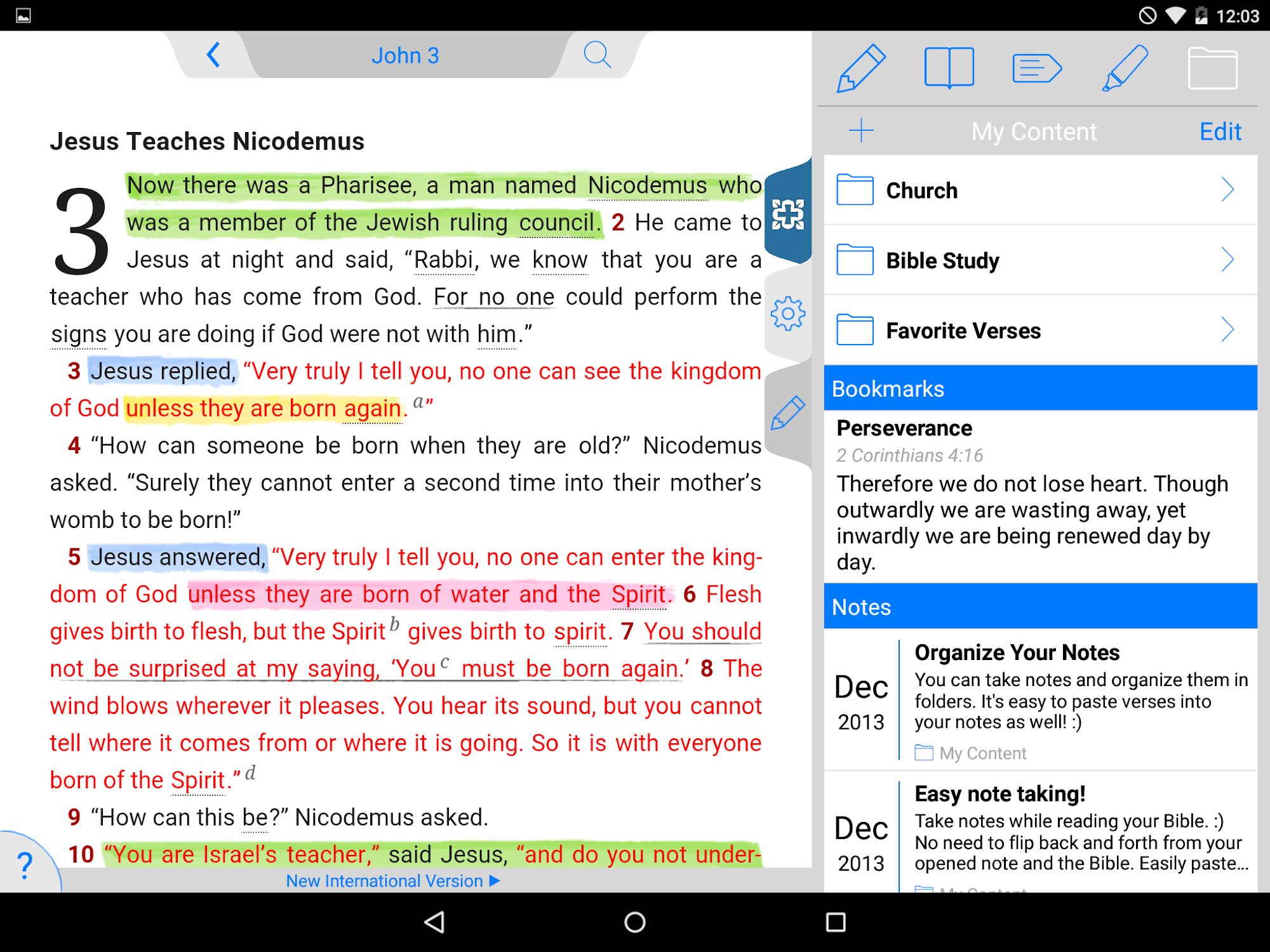 NIV Study Bible screenshot #15