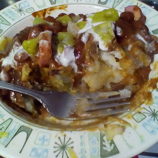 Quick and Easy Chili Cheese Dog Baked Potatoes