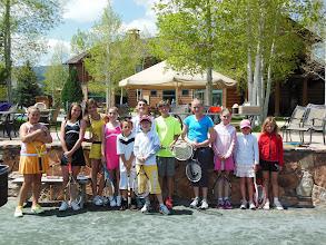 Photo: Kids tennis event