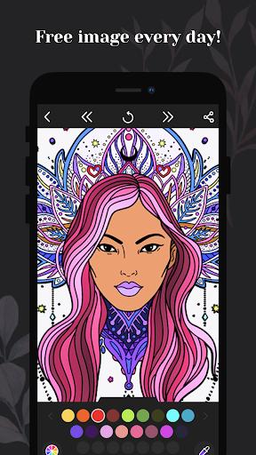 Coloring book for me - Mandala & Antistress 2.2.2.17 screenshots 2